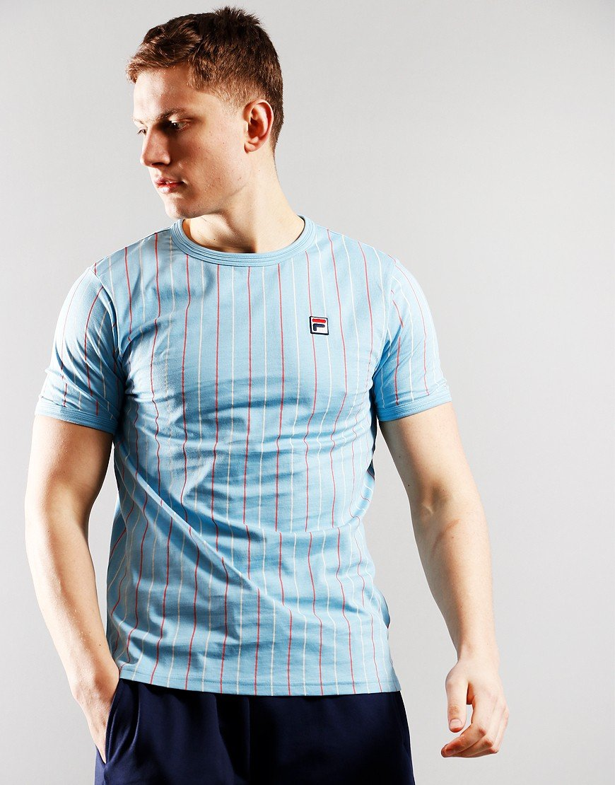 Fila Vintage Mica T-Shirt Air Blue