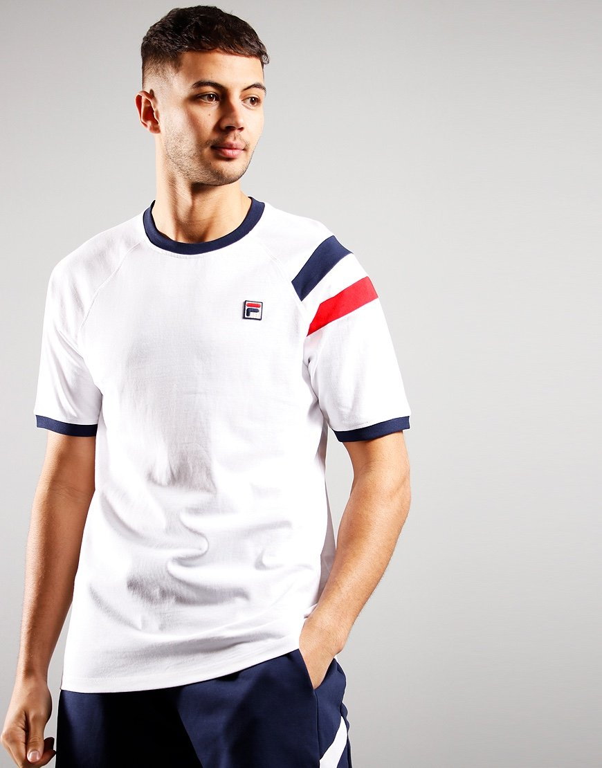 Fila Roger Raglan T-shirt White