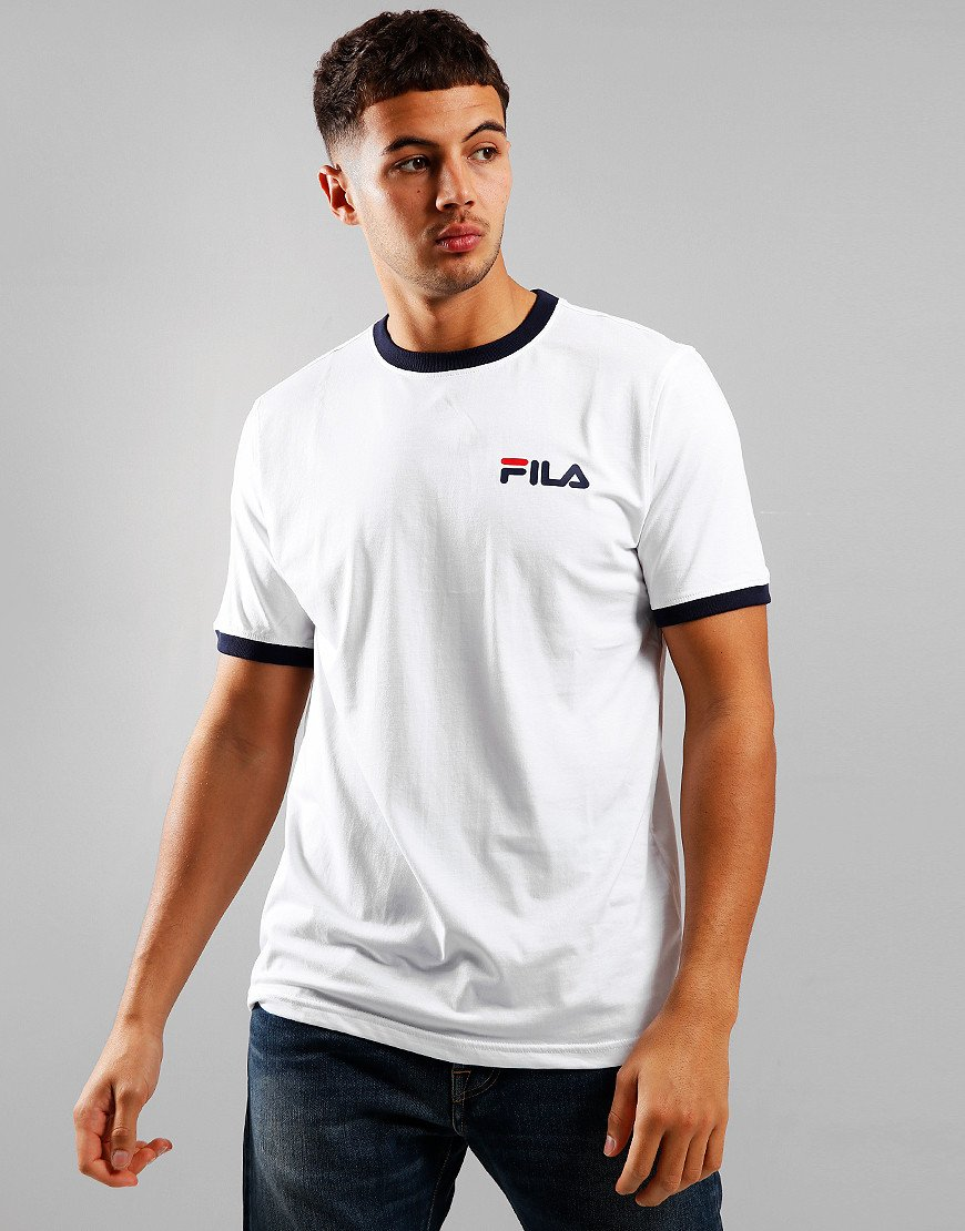 Fila Vintage Rosco T-Shirt White