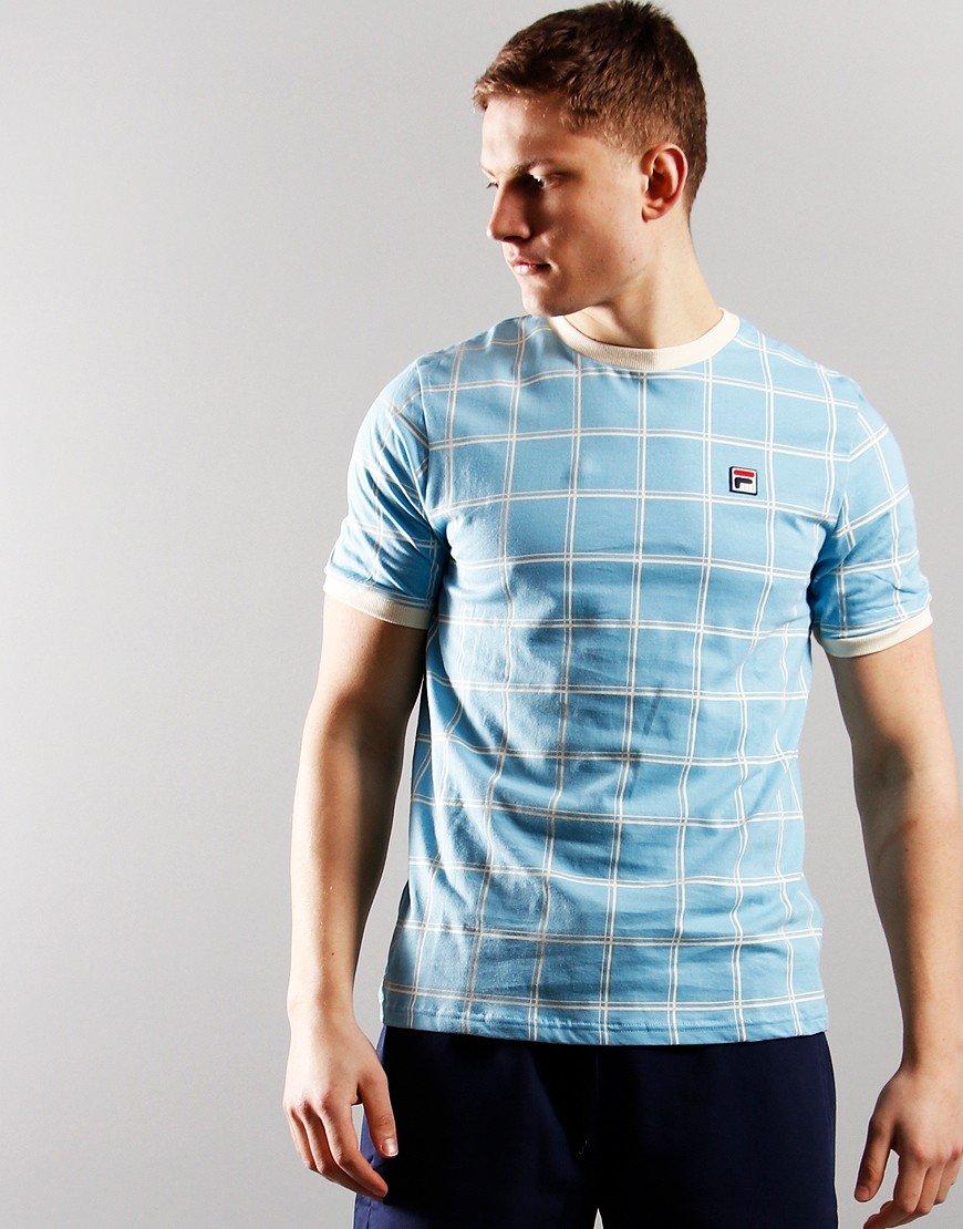FILA vintage Slate T-Shirt Air Blue