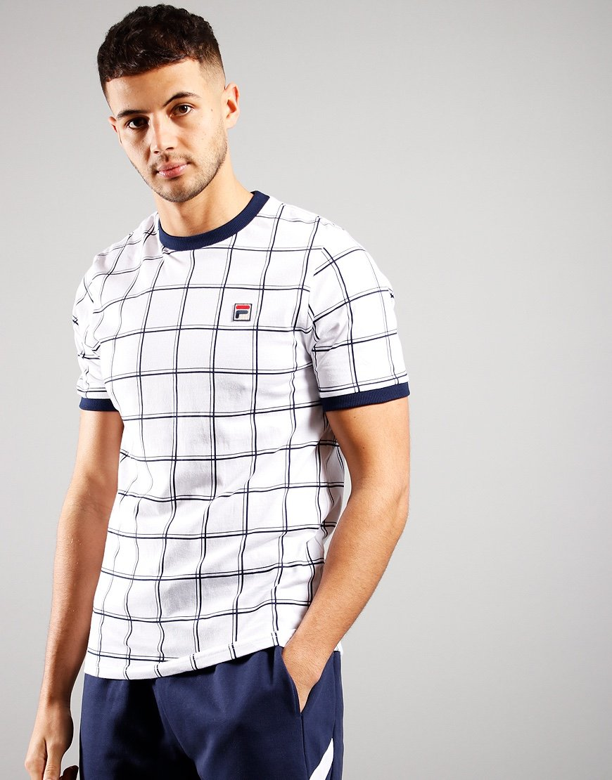 FILA Vintage Slate T-Shirt White