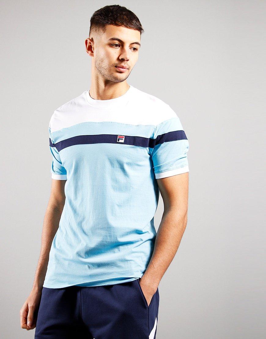 FILA Vintage Sten T-Shirt Air Blue