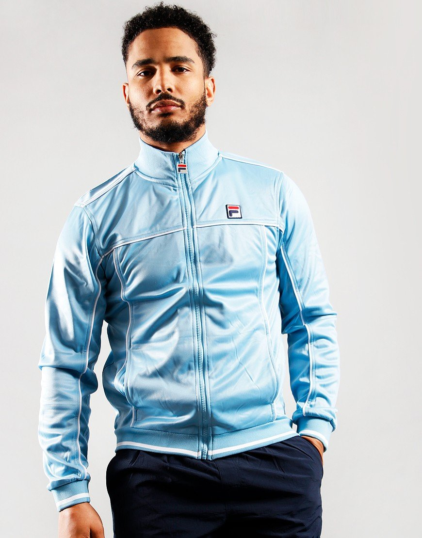 Fila Vintage Terry Track Top Air Blue