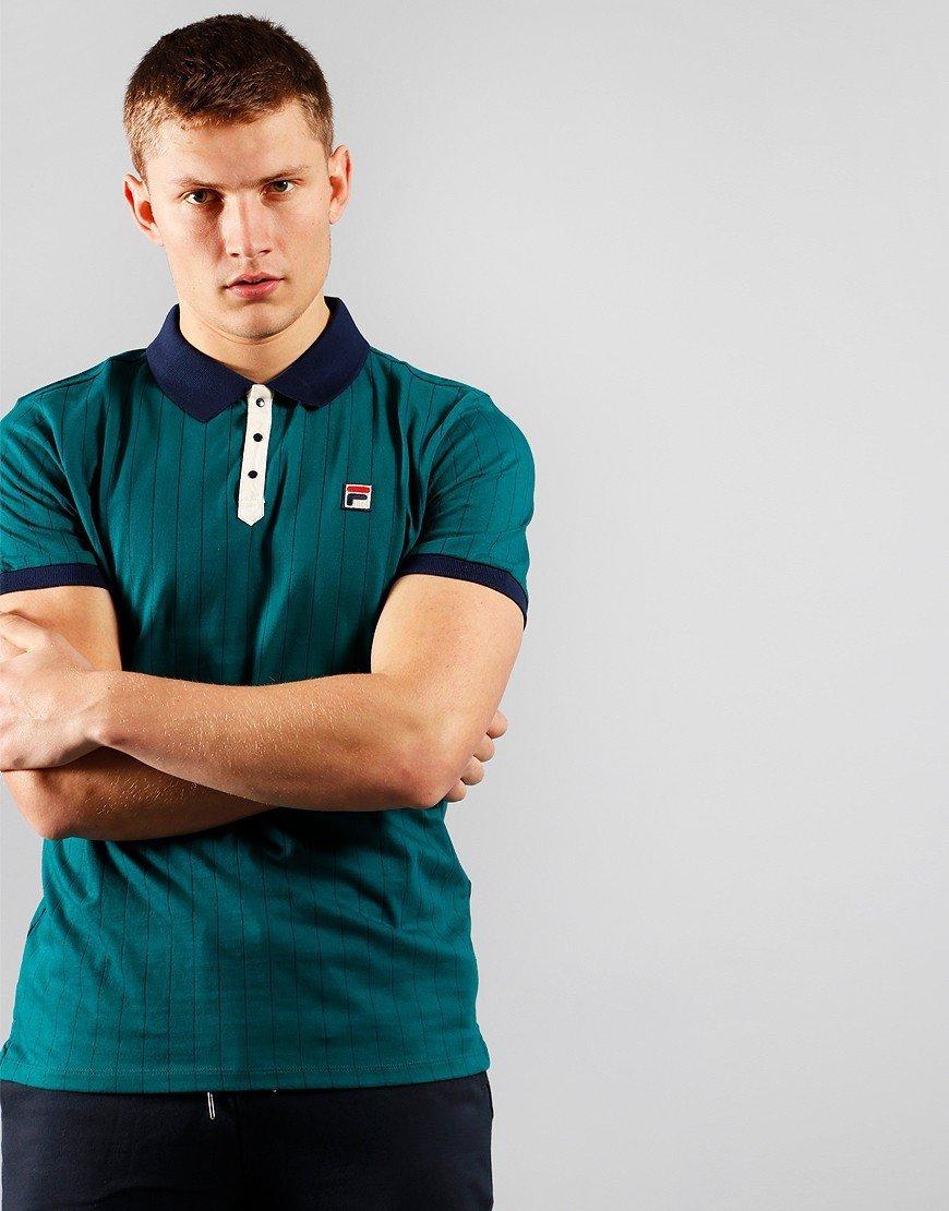 FILA Vintage BB1 Polo Shirt Storm