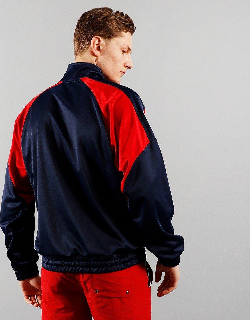 FILA Vintage Mercury Track Jacket Peacoat/Chinese Red/White