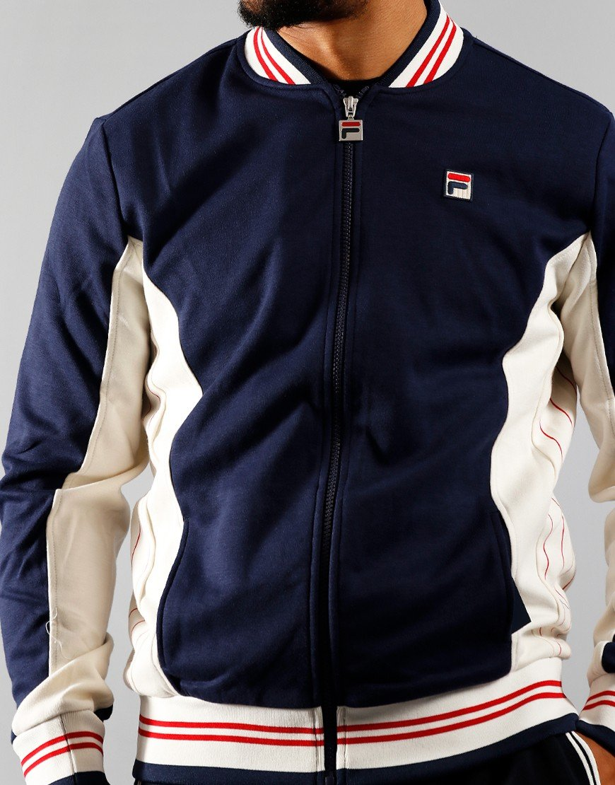 FILA Vintage Settanta Track Tops Peacoat / Chinese Red