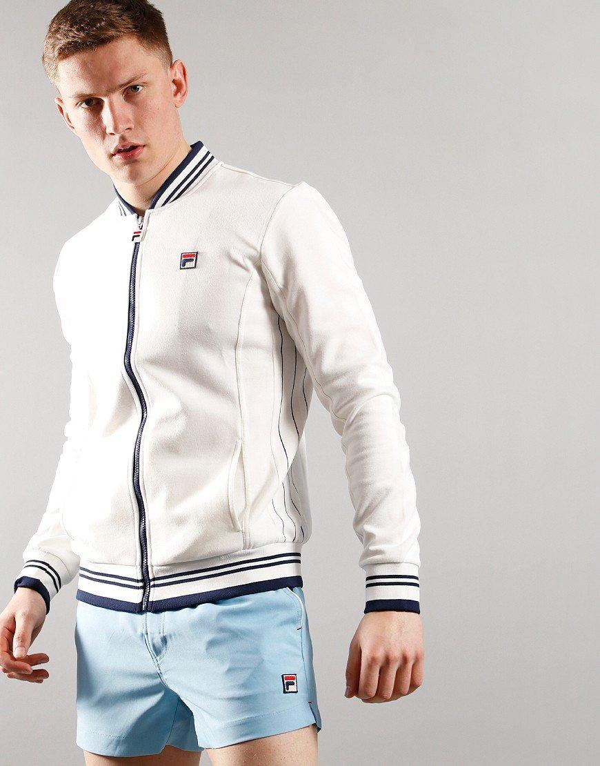 Fila Vintage Settanta Track Jacket White