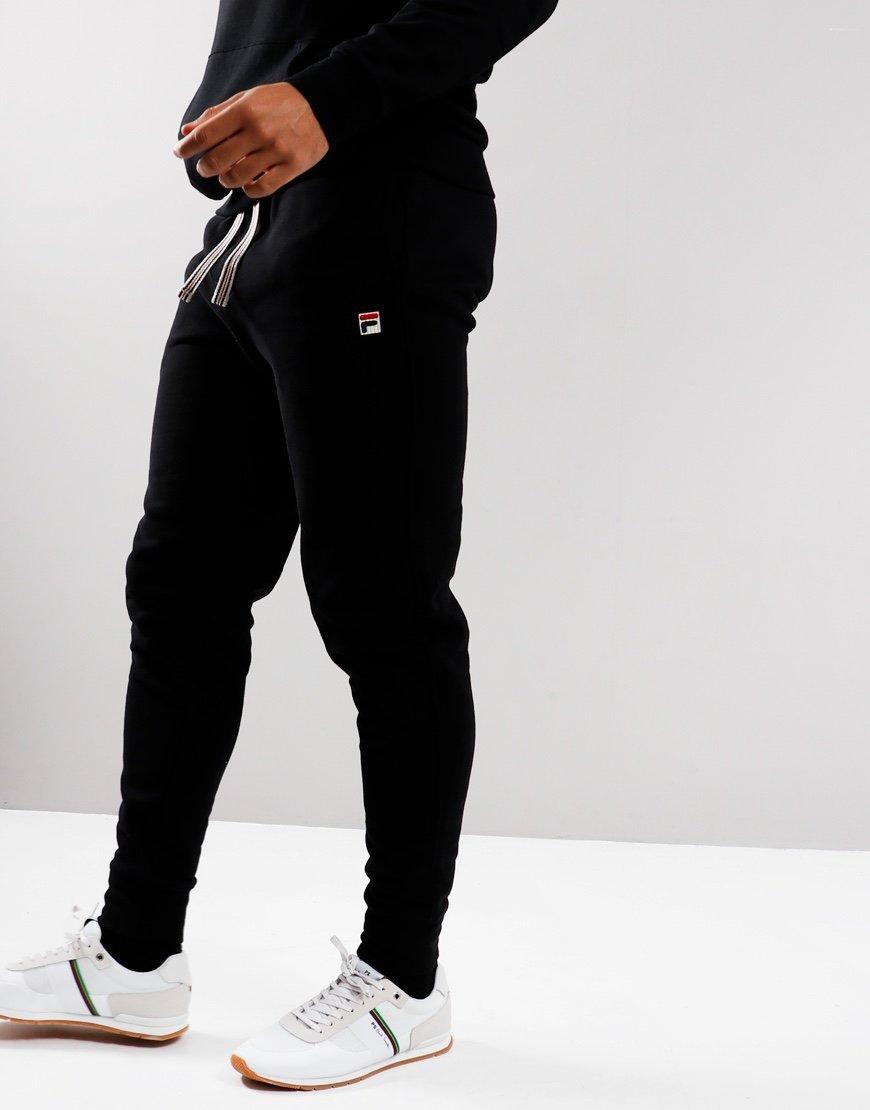 Fila Vintage Visconti Track Pants Black