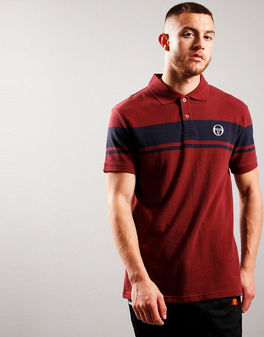 Sergio Tacchini Young Line Polo Shirt Port/Navy