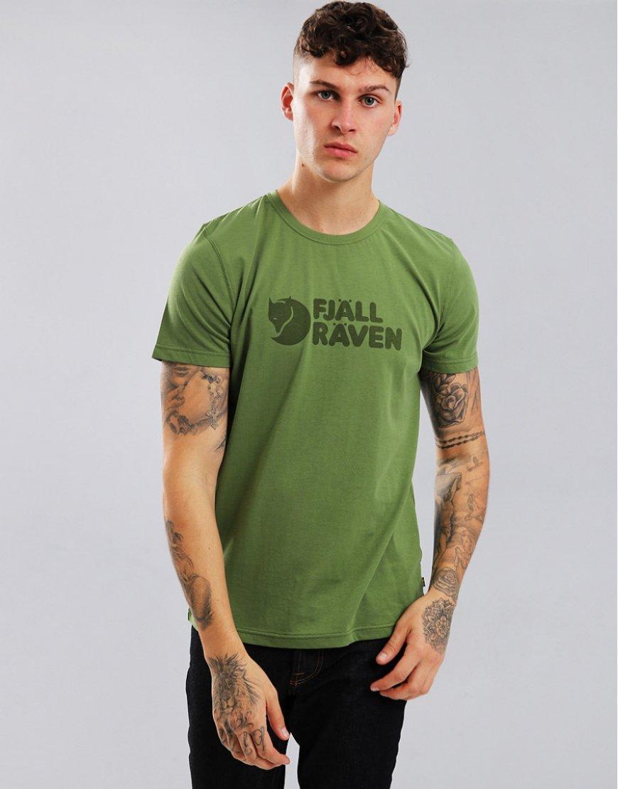 Fjällräven Logo T-Shirt Fern