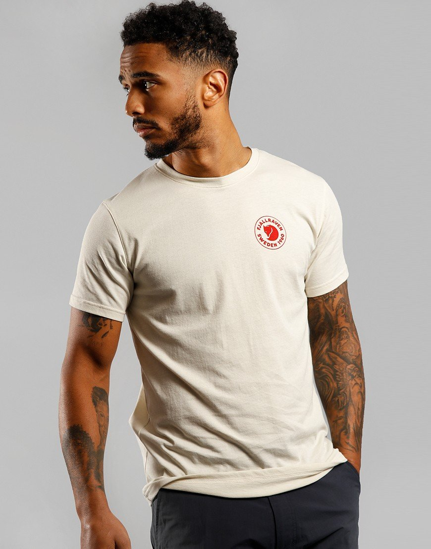 Fjällräven 1960 Logo T-Shirt Chalk White