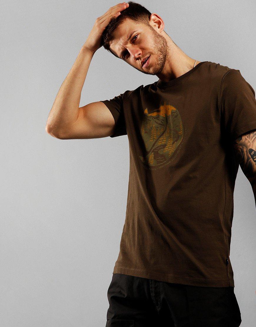 Fjällräven Arctic Fox T-shirt Dark Olive