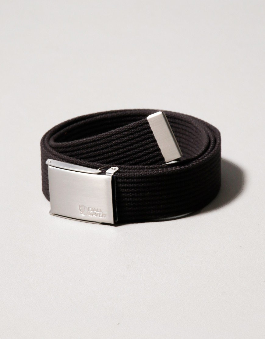 Fjallraven Canvas Belt Black