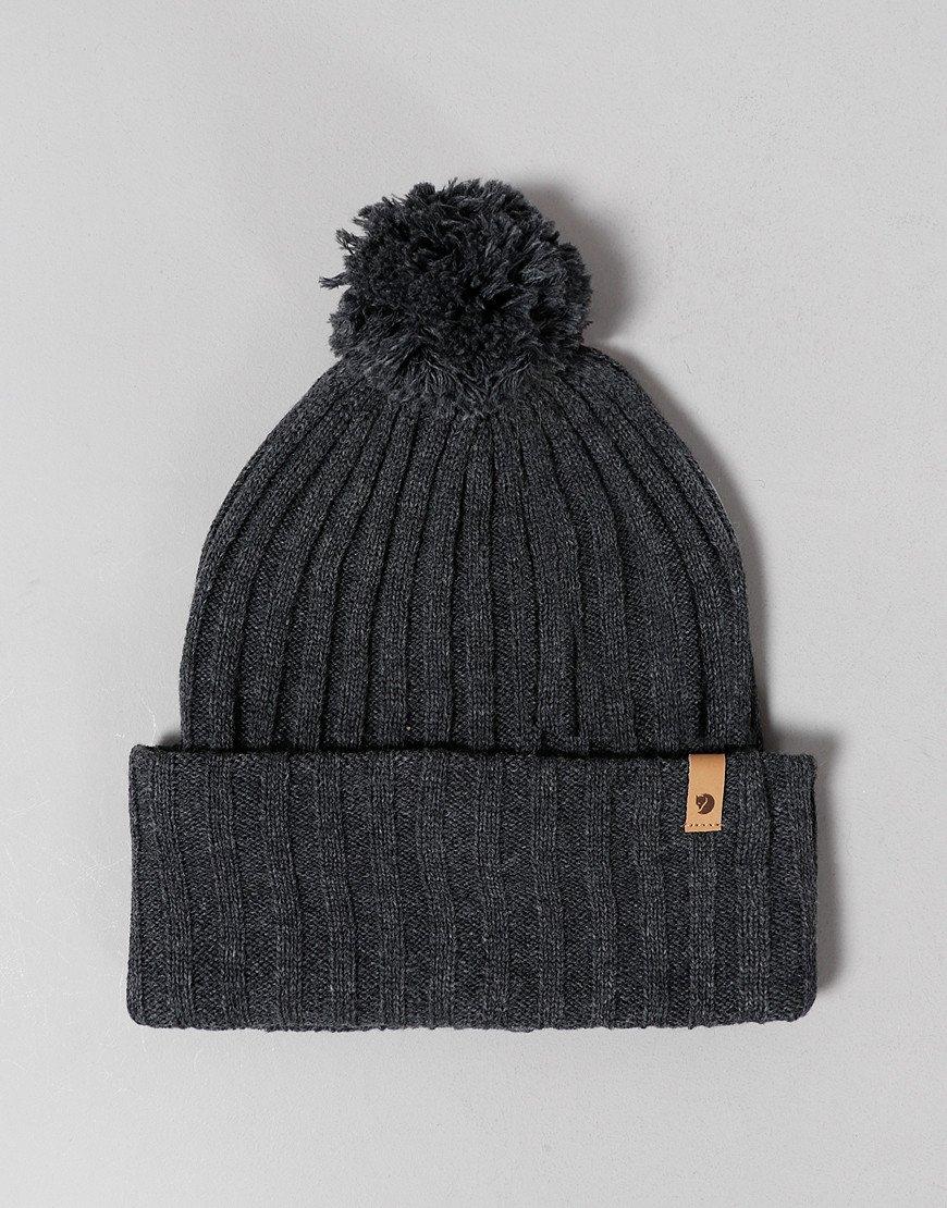Fjällräven Byron Pom Hat Dark Grey