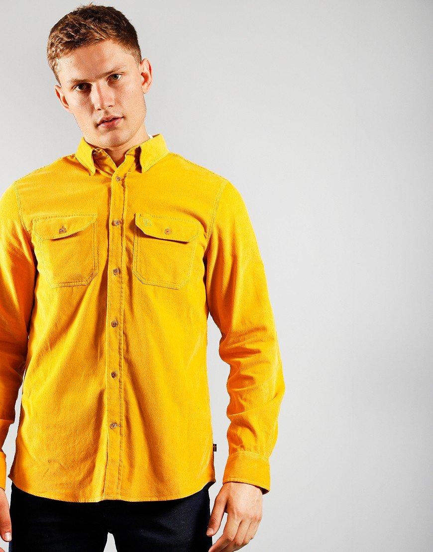 Fjallraven Long Sleeve Cord Shirt Ochre