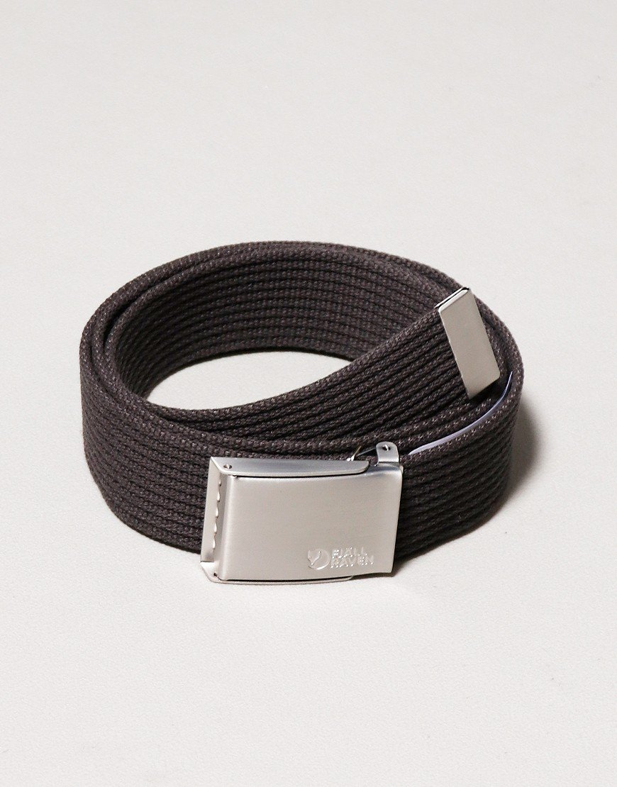 Fjallraven Canvas Belt Dark Grey