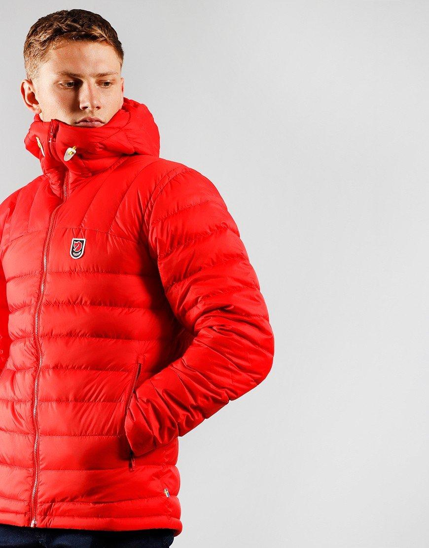 Fjällräven Expedition Pack Down Hooded Jacket True Red