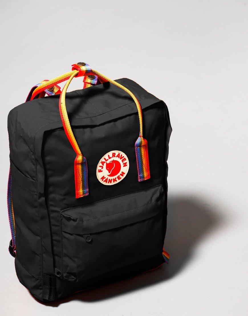 Fjällräven Kånken  Rainbow Backpack Black