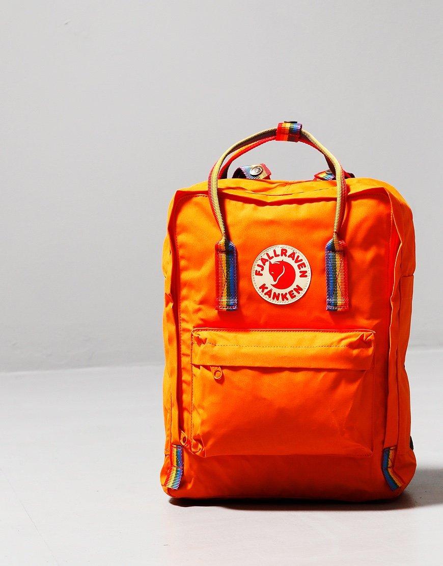 Fjällräven Kånken  Rainbow Backpack Burnt Orange