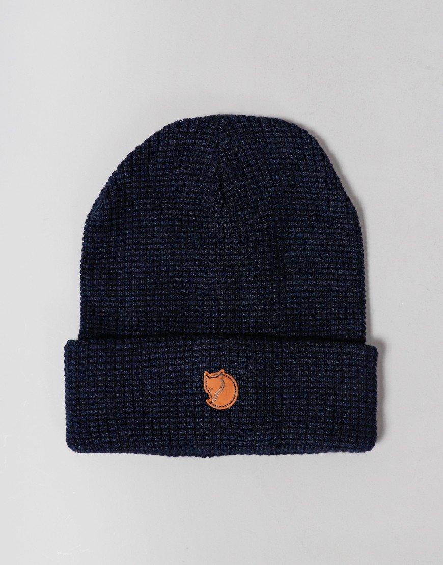 Fjällräven Merino Wool Hat Dark Navy