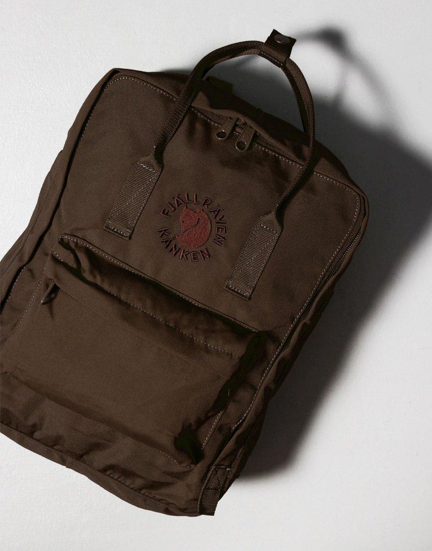 Fjällräven Re-Kånken  Backpack Dark Olive