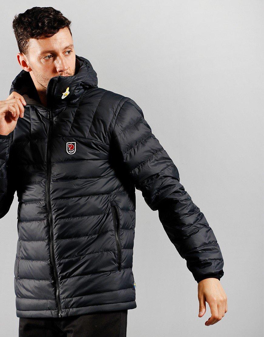 Fjällräven Expedition Pack Down Hooded Jacket Black