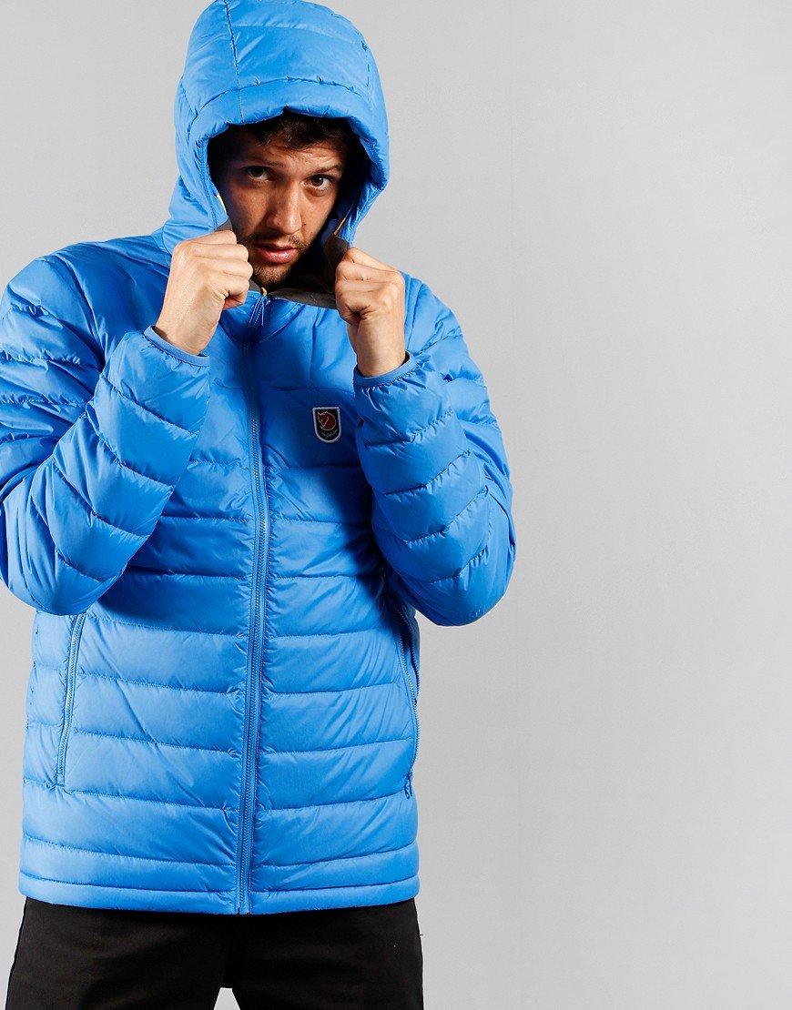 Fjällräven Expedition Pack Down Hooded Jacket UN Blue