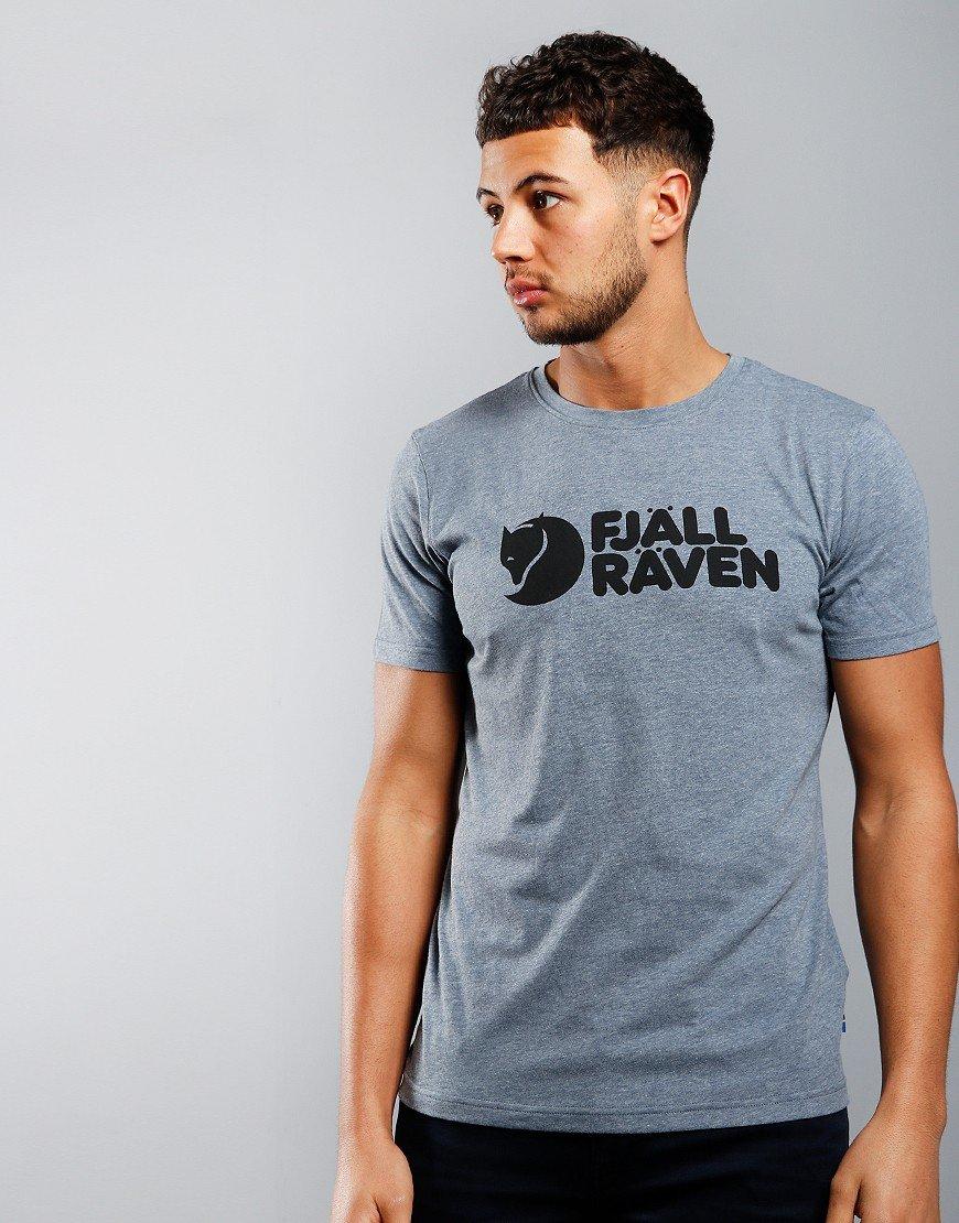 Fjallraven Fjall Logo T-shirt Blue