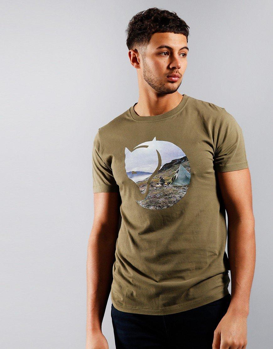 Fjallraven Gadgaureh T-shirt Green