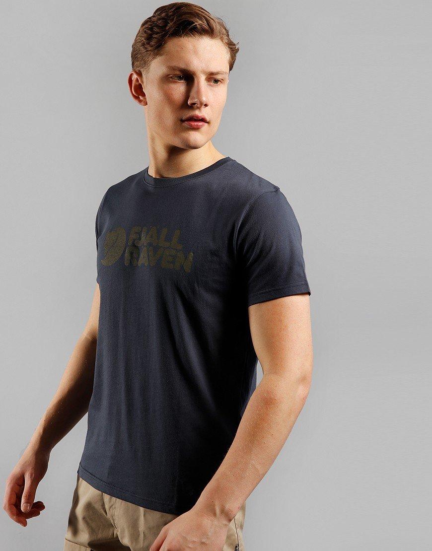 Fjällräven Fjall Logo T-Shirt Navy