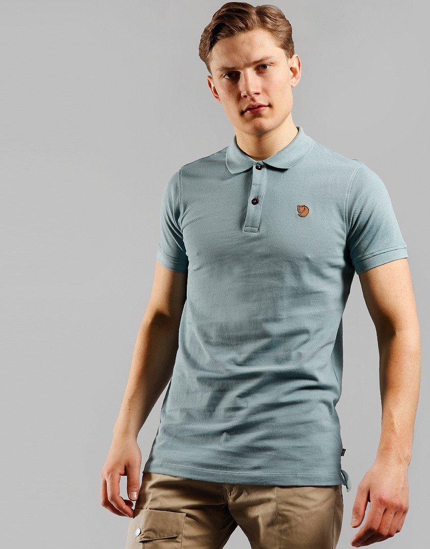Fjällräven Övik Polo Shirt Clay Blue