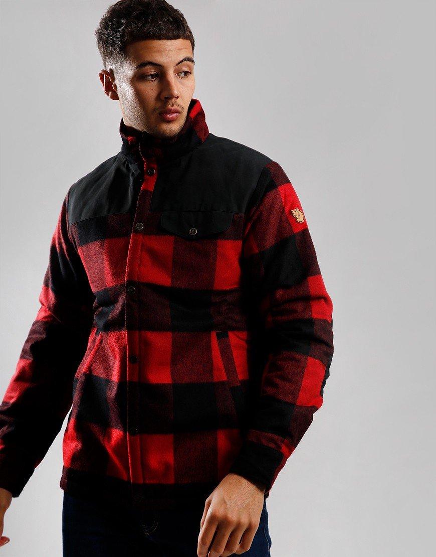 Fjällräven Canada Wool Padded Jacket Red