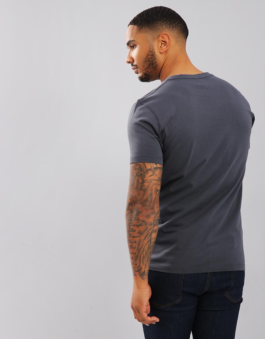 Fjällräven Kånken T-Shirt Navy - Terraces Menswear ab01ca1db7