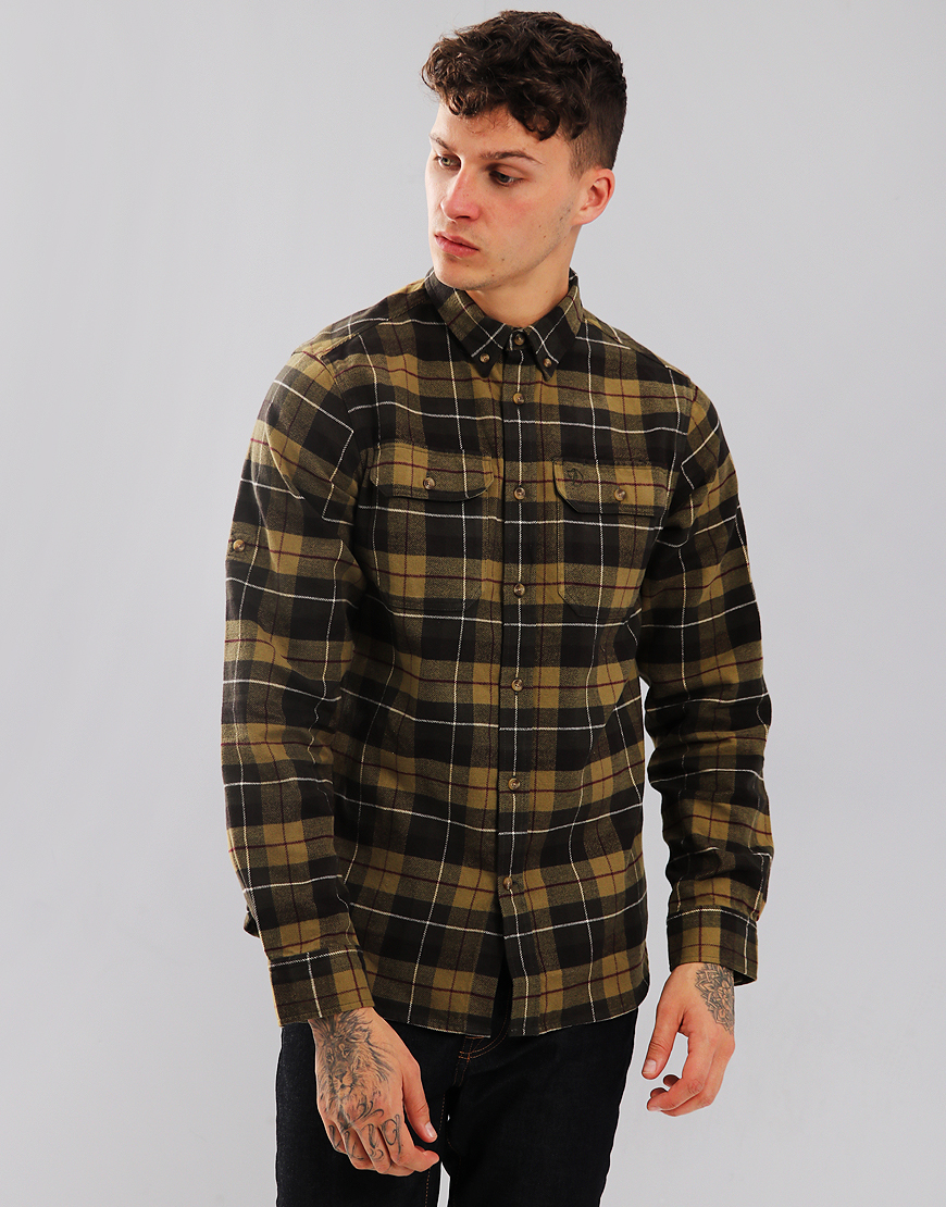 Fjällräven Singi Heavy Flannel Shirt  Green