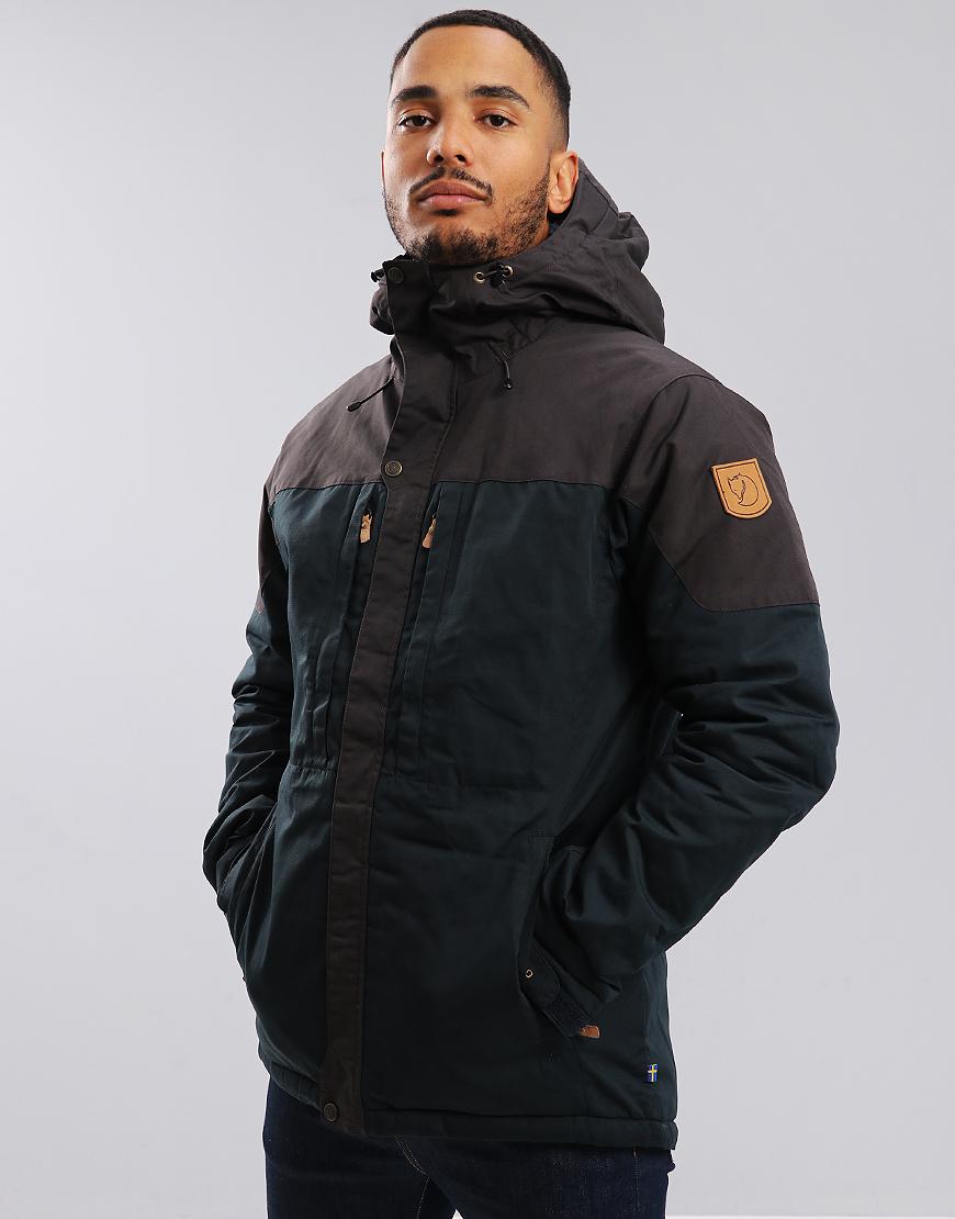 Fjällräven Skogso Padded Jacket Dark Navy/Dark Grey