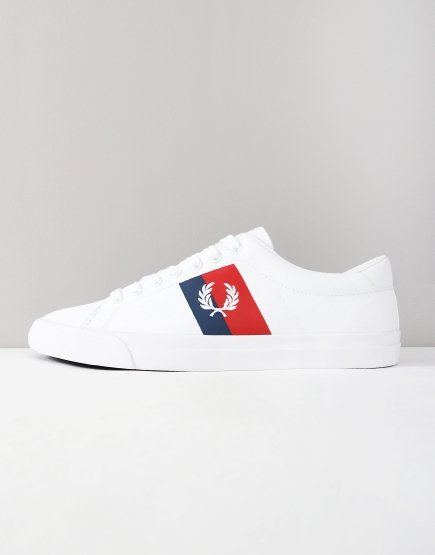 Fred Perry Underspin Trainers White