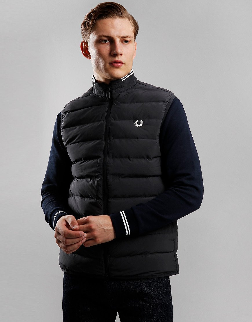Fred Perry Insulated Gilet Black