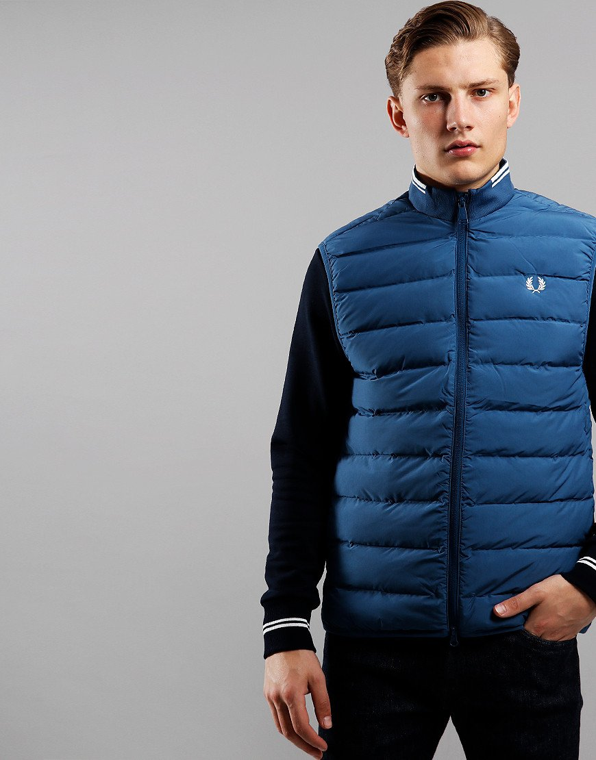 Fred Perry Insulated Gilet Midnight