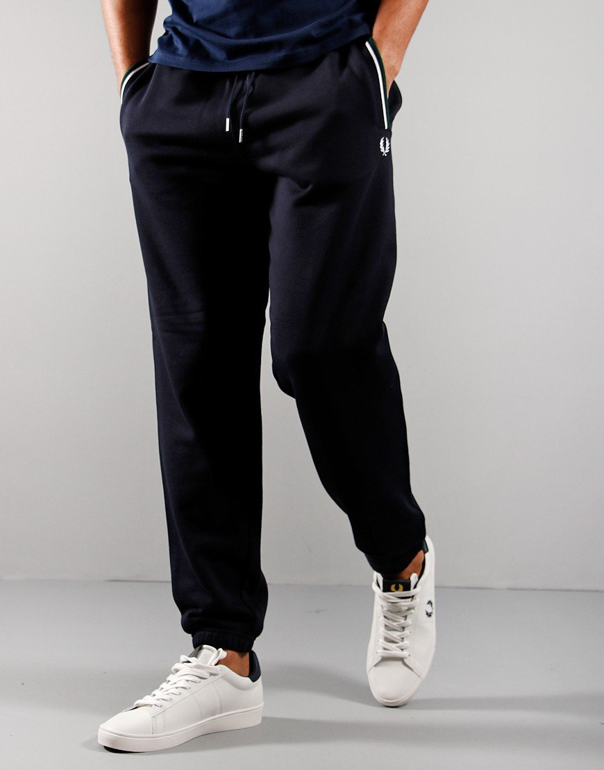 Fred Perry Loopback Sweat Pants Navy