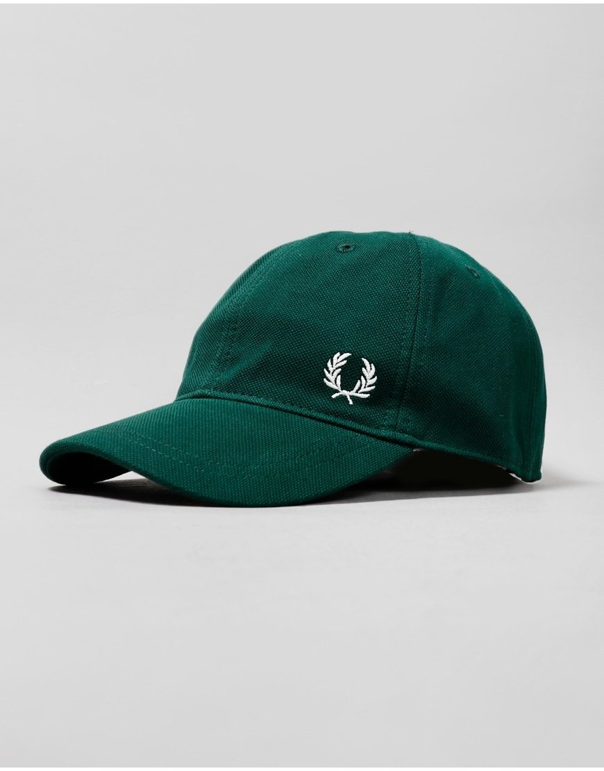 Fred Perry Piqué Classic Cap Ivy