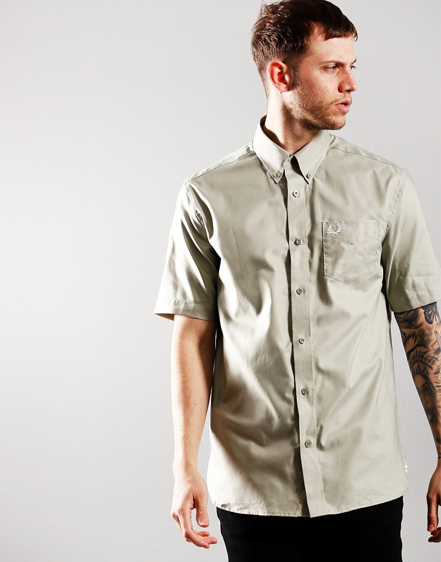 Fred Perry Oxford Shirt Seagrass