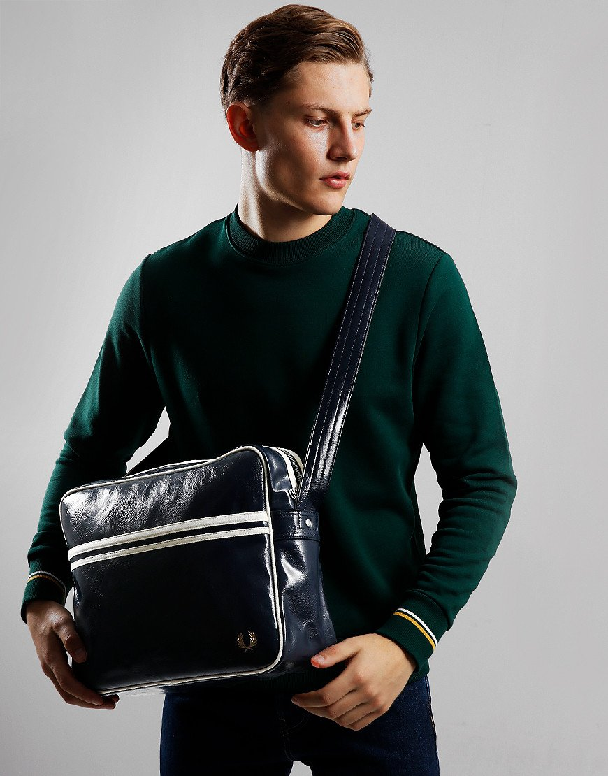 Fred Perry Classic Shoulder Bag Navy/Ecru