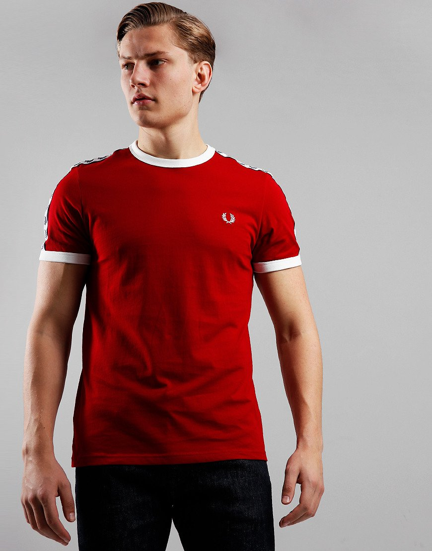 Fred Perry Taped Ringer T-Shirt Siren