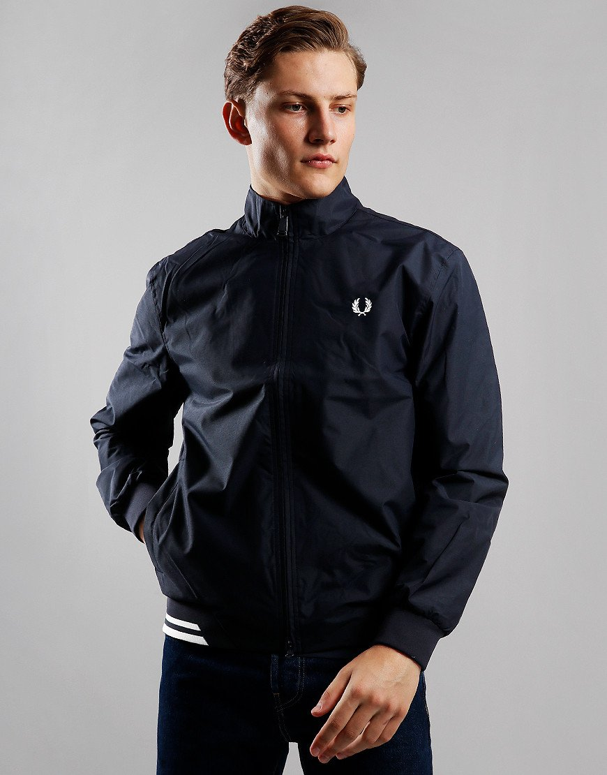 Fred Perry Brentham Twin Tipped Sports Jacket Navy