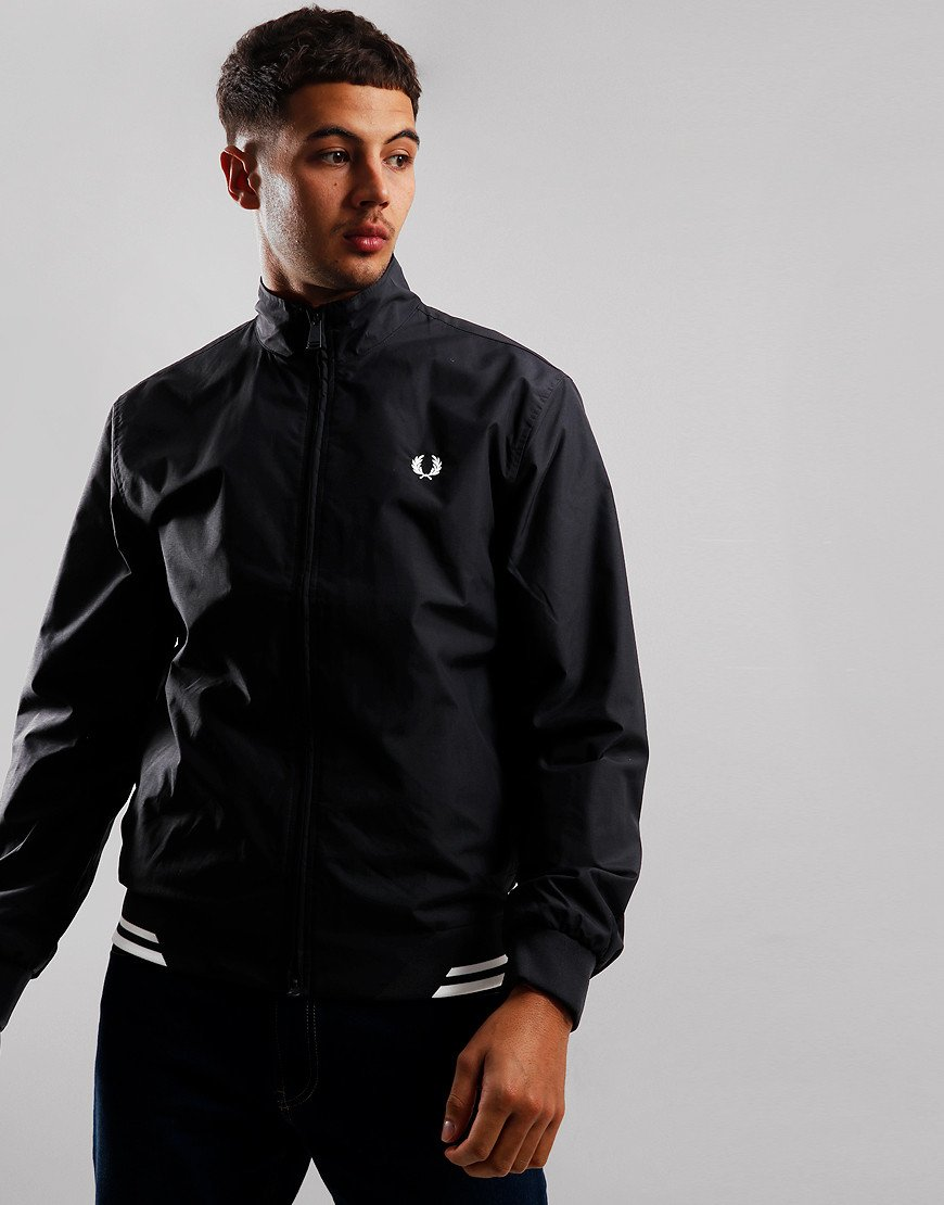 Fred Perry Twin Tipped Sports Jacket Black