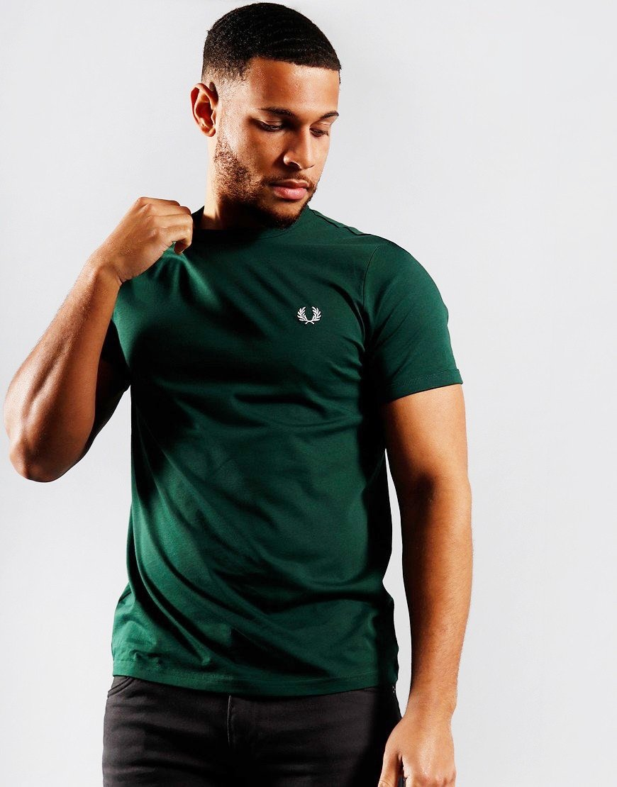 Fred Perry Tonal Ringer T-Shirt Ivy
