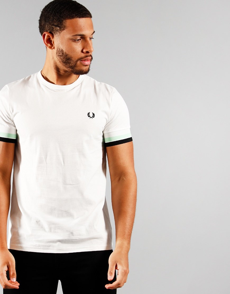Fred Perry Bold Tip T-Shirt Snow White