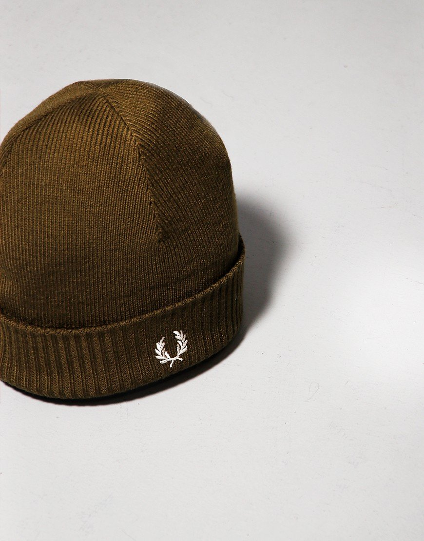 Fred Perry Roll Up Beanie Iris