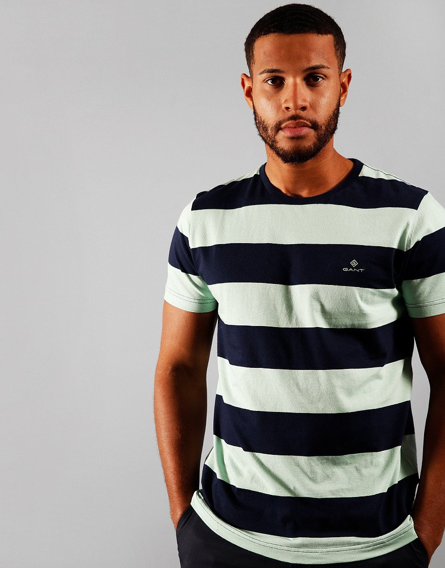 GANT Original Barstripe T-Shirt Breeze