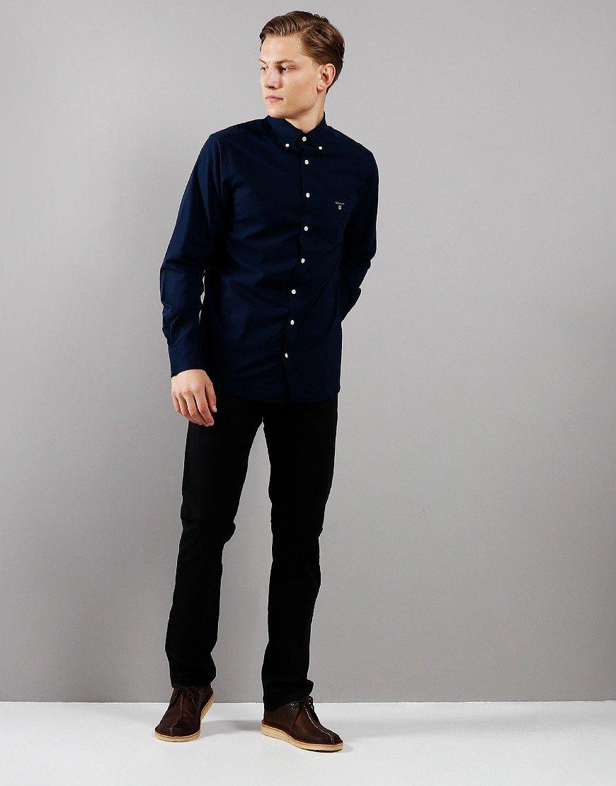GANT Broadcloth Shirt  Marine